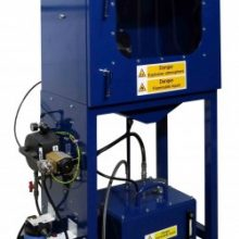 Turnkey spindle bearing journal cleaning system